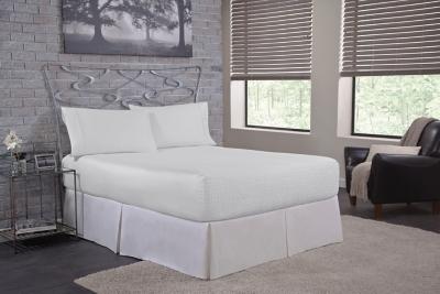 Bedtite CoolMax Twin Sheet Set, White, large