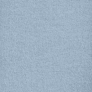 J. Queen New York Royal Fit Flannel Queen 4 Piece Sheet Set, Light Blue, large
