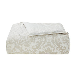 Waterford Sutherland Queen Comforter Set, Ivory, large