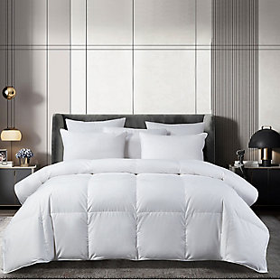 Beautyrest 300 Thread Count All Seasons Twin Down Comforter, White, rollover