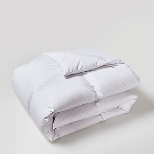 Beautyrest 300 Thread Count All Seasons Twin Down Comforter, White, large