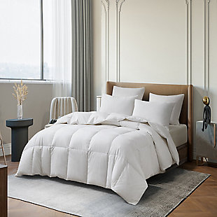 Martha Stewart All Seasons Twin Down Comforter, White, large