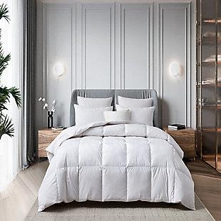Martha Stewart All Seasons Twin Down Comforter, White, rollover