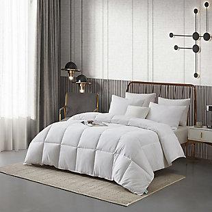 Martha Stewart All Seasons Twin Comforter, White, rollover