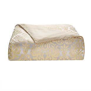 Waterford Bastia Queen Comforter Set, Gold, large