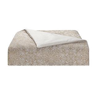 Waterford Spencer Queen Comforter Set, Mocha, large