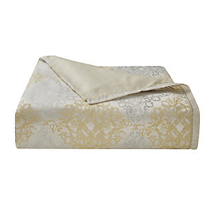 Waterford Wynne Queen Comforter Set, Gold, large