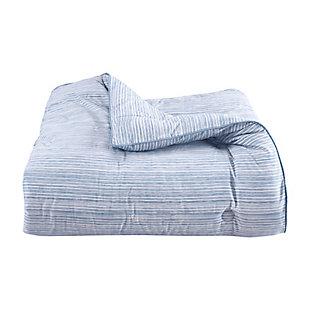 Royal Court Franco Twin/Twin XL 2 Piece Comforter Set, Powder Blue, large