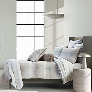 Royal Court Vaughn Twin/Twin XL 2 Piece Comforter Set, Gray, rollover