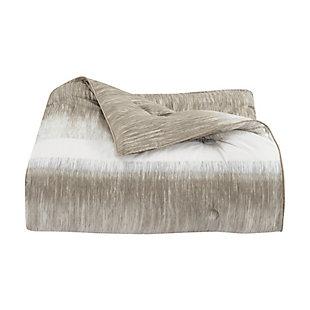 Royal Court Vaughn Twin/Twin XL 2 Piece Comforter Set, Gray, large