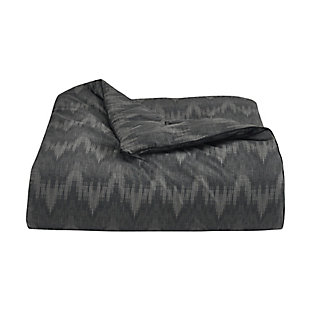Royal Court Axel Twin/Twin XL 2 Piece Comforter Set, Black, large