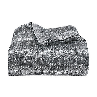 Royal Court Brixton Twin/Twin XL 2 Piece Comforter Set, Black, large