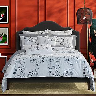 Royal Court Bridget Twin/Twin XL 2 Piece Comforter Set, Gray, rollover