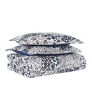Cannon Chelsea Twin/Twin XL 2 Piece Comforter Set, Blue Multi, large