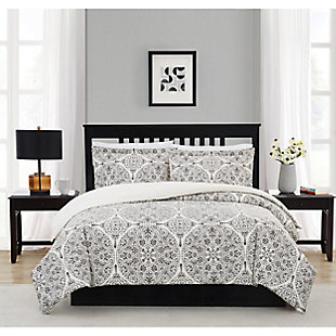 Cannon Gramercy Gray Twin/Twin XL 2 Piece Comforter Set, Gray, rollover