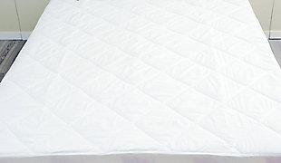 SpringLoft Waterproof Twin Mattress Pad, White, large
