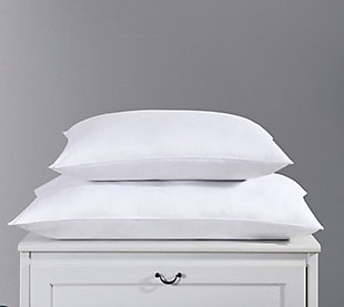 SpringLoft Two Pack Standard Pillow, White, rollover