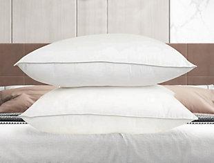 SilvaSleep Traditional Single Standard Pillow, White, rollover
