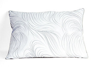 B Smith Traditional Standard Pillow 2 Pack, White, large