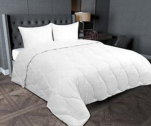 SilvaSleep Down Alternative Twin Comforter, White, rollover