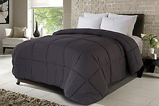 Down Home NeverDown™ MicroSoft Twin Comforter, Gray, rollover