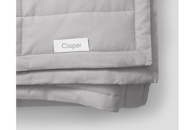 Casper 20 lbs Weighted Blanket Gray, Gray, large