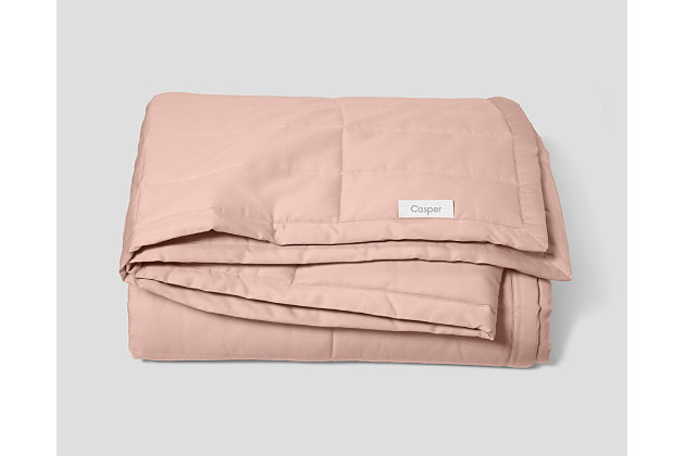 Casper 20 lbs Weighted Blanket Dusty Rose, Dusty Rose, large