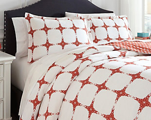 Cyrun 3-Piece Queen Duvet Cover Set, , rollover