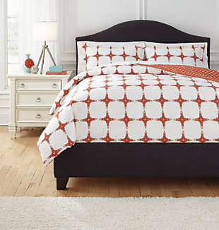 Cyrun 3-Piece Queen Duvet Cover Set, , large