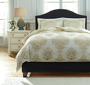 Fairholm 3-Piece Duvet Cover Set, , large