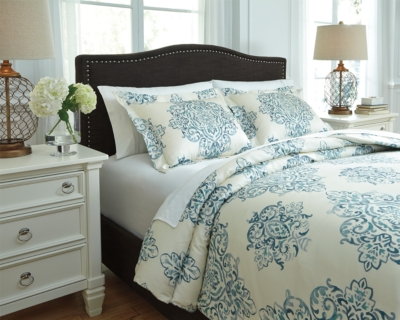 Reliable Queen Duvet Cover Set Turquoise Piece Product Photo