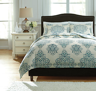 Fairholm 3-Piece Queen Duvet Cover Set, , large