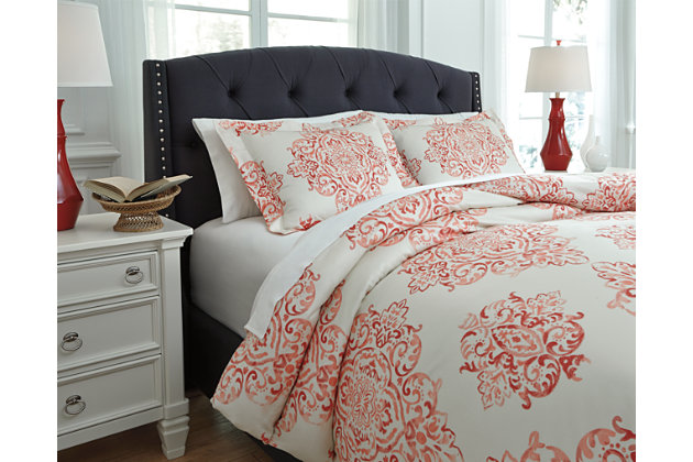 Fairholm 3-Piece Queen Duvet Cover Set by Ashley HomeStor...