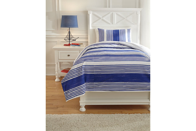 Taries 2-Piece Twin Duvet Cover Set, , large