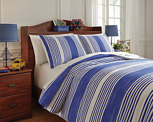 Taries 3-Piece Full Duvet Cover Set, , rollover