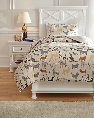 Howley 2-Piece Twin Duvet Cover Set, Multi, large