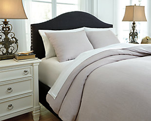 Bergden 3-Piece Duvet Cover Set, , rollover