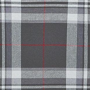 Baret 2-Piece Twin Duvet Cover Set, Gray, large