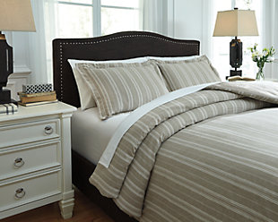 Navarre 3-Piece Duvet Cover Set, , rollover