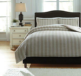 Navarre 3-Piece Queen Duvet Cover Set, , large