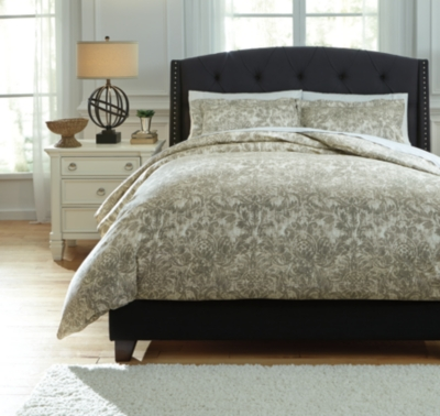 Ashley King Duvet Cover Set Kelby