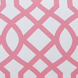 Loomis 2-Piece Twin Comforter Set, Pink, large