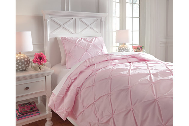Medera 2-Piece Twin Comforter Set by Ashley HomeStore, , ...