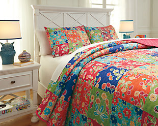 Belle Chase 3-Piece Full Quilt Set, , rollover