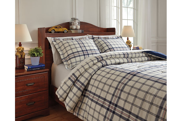 Learn more about Derick Full Comforter Set Product Photo