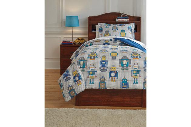 Machado 2-Piece Twin Comforter Set, Multi, large