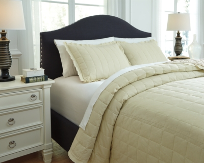 Queen Coverlet Set Sand Piece Product Photo 3077