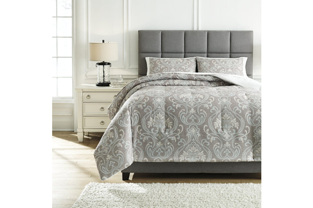 Noel 3-Piece Queen Comforter Set, , large