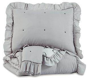 Hartlen Full Comforter Set, , large