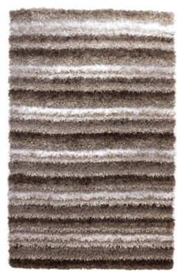 "Ashley Wilkes 7'9"" x 9'9"" Rug, Gray/White"